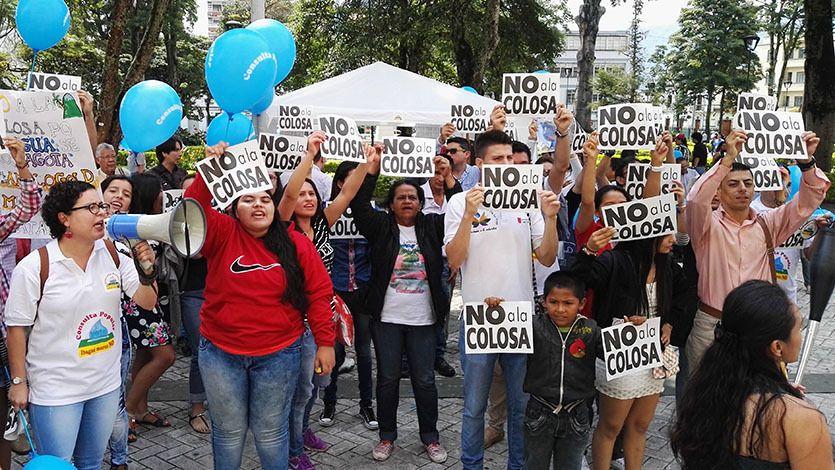 Solidarité avec Cajamarca