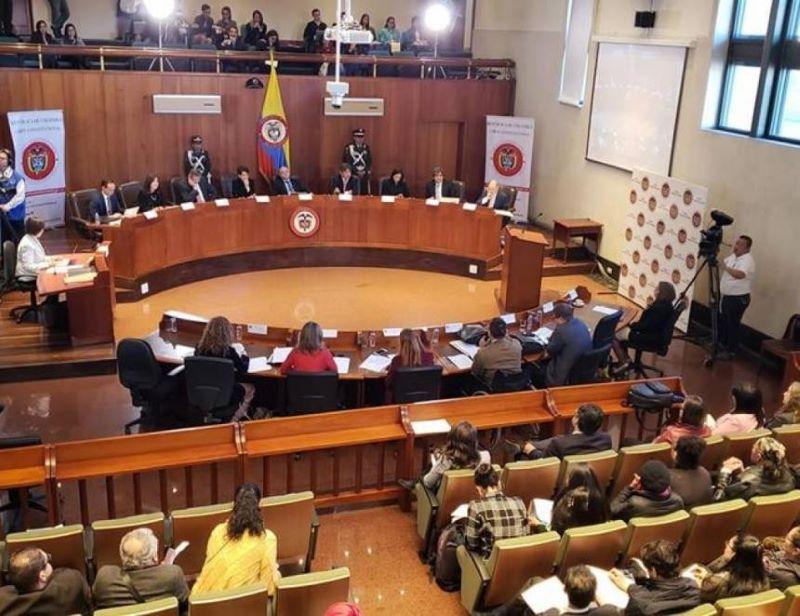 conferencia corte tres